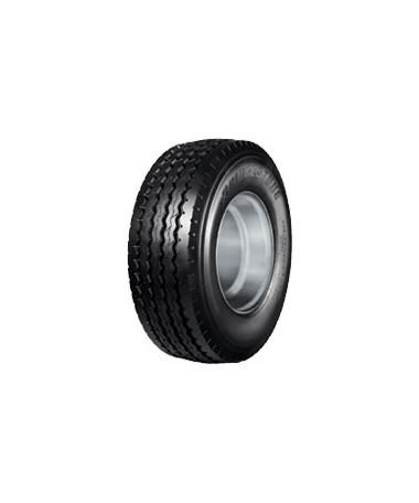 Bridgestone 385/65R-22.5 R168 160K - Opona przeznaczona na oś wleczoną (przyczepy, naczepy)do transportu regionalnego jak i dalekobieżnego